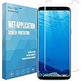 Samsung Galaxy S8 Protector de Pantalla, PULESEN® [No Burbujas] [Cobertura Completa] [Anti-arañazos] HD claridad Protección Protector Pantalla para Samsung Galaxy S8 - Garantía de por vida