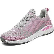 44b1c353c3891 FLARUT Unisex Mujer Zapatos para Correr EN Montaña y Asfalto Aire Libre y Deportes  Zapatillas de