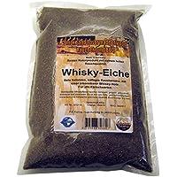 Räuchermehl Whisky-Eiche, 400g Räucherspäne vom Holz gebrauchter Whisky-Fässer, Dust, 0-2 mm