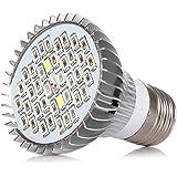 Atopsun Full Spectrum LED Grow Ampoule UV IR 30W E27 Pour les plantes Légumes Fleur système hydroponique Tente AC 85-265V