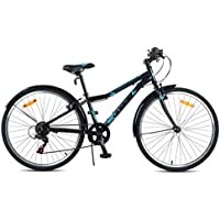 Beany enfants City Vélo, Black/Blue, 24 ""
