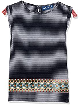 TOM TAILOR Kids Mädchen T-Shirt Striped Tee with Artwork