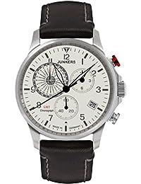 Junkers Herren-Armbanduhr Chronograph Quarz Leder 68925