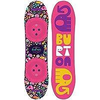 Burton Niños Frisker Snowboard, Infantil, Chicklet, sin Color, 125