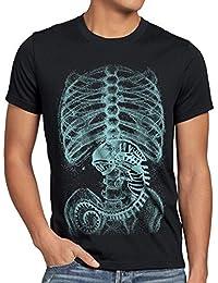 style3 Xénomorphe T-Shirt Homme Alien