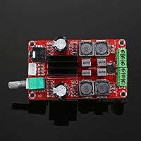 Hanbaili Placa de amplificador digital, 1Pc TPA3116D2 2x50W DC24V Junta de amplificador de audio estéreo de doble canal