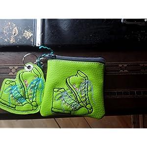 kleine Tasche, Kosmetiktasche, Schlüsselmäppchen, Kunstleder, Taschenbaumler, Turnschuh