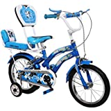 Yono™ Bikes Blue 14 Inches Steel Bicycle for Kids 2.5 to 4.5 Age Group (Assembly Needed by Customer, Comes with How to Assemble Instruction Manual & Tool Kit)