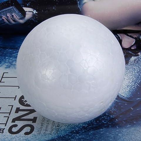 20pcs 10cm Modelado Blanco Bolas De Espuma De Poliestireno Nave Esferas