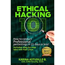 ETHICAL HACKING 101: How to conduct professional pentestings in 21 days or less! (How to hack) (English Edition)