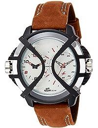 Fastrack Sport Analog-Digital Silver Dial Men's Watch - 38016PL02