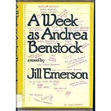 Title: A week as Andrea Benstock A novel