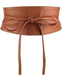 gamma completa di articoli calzature elegante Amazon.it: Cinture donna - Marrone / Cinture / Accessori ...