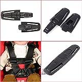 JJOnlinestore–negro coche asiento de seguridad correa cinturón arnés pecho niño niños bebé Clip seguro hebilla cierre