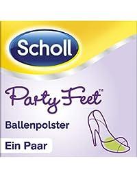 Scholl Party Feet Ballenpolster Rutschfeste Einlegesohlen (mit GelActiv Technologie für fast alle Damenschuhe, selbstklebende Gelsohlen) 1 Paar