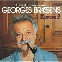 20 Ans D'emissions Avec Georges Brassens A Europe 1