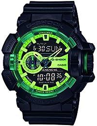 Casio G-Shock – Reloj Hombre Analógico/Digital con Correa de Resina – GA-400LY-1AER