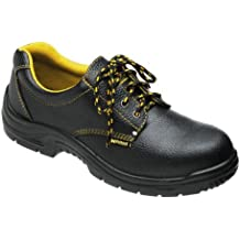 Wolfpack - Zapatos seguridad piel, color negro Nº 44