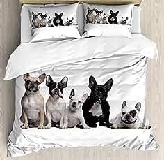 Amazon.es: Bulldog Frances - Ropa de cama y almohadas / Textiles del hogar: Hogar y cocina