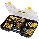 DeWalt DT71569-QZ - Juego TSTAK de 100 piezas para taladrar y atornillar