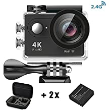 Daping Action Cam 1080p / 60fps H264, Videocamera Full HD