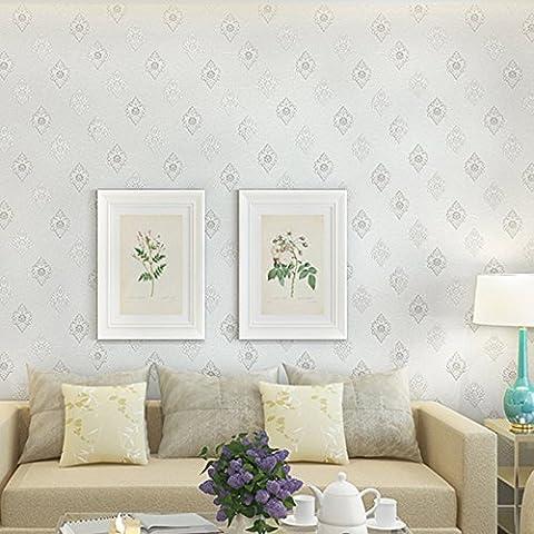 Tessuto non tessuto damasco hotel di stile europeo da parete a parete soggiorno camera da letto sfondi per il desktop , 68084