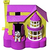 4tens Puppy House Piggy Coin Bank For Kids / Dogs House Bank Multi Colour (1 Piece)