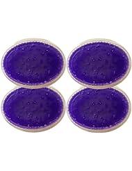 Dermawax 4x 500 ml Lavendel Paraffinwachs, Paraffinbäder für Hand und Fußpflege
