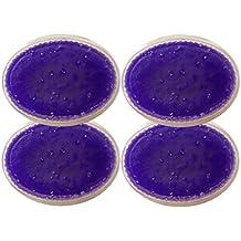 Derma Wax 4x 500ml lavanda Cera de parafina, parafina Baños para mano y cuidado de los pies