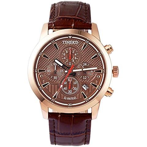 Time100 W70053G.03A W700 - Reloj para hombres color marrón