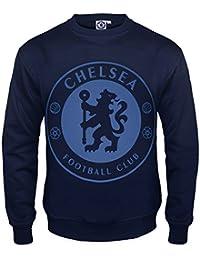 6bced6ac4a Chelsea FC - Sudadera oficial para hombre - Con el escudo del club