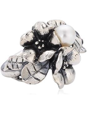 Original TROLLBEADS Weißdorn mit Perle, verschiedene Groeßen