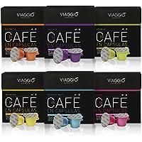 Viaggio Espresso Selección Clásicos - 60 Cápsulas de Café Compatibles con Máquinas Nespresso