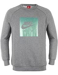 Nike M NSW CRW FLC Air HRTG T-Shirt langarm, Herren