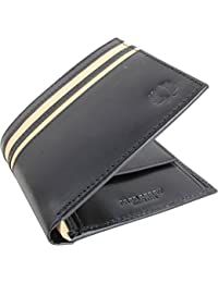 Fred Perry Classic Billfold Homme Wallet Noir