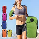 SHOPEE BRANDED Waterproof Sport Armband Unisex Running Jogging Gym Arm Band Case Cover For Mobile IPhone 6s 6 Plus Phones Till 5.7 Inches (COLOR MAY VERY)