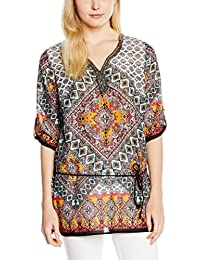 Comma CI Damen Bluse 88.606.19.7010