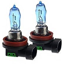 VORCOOL H11 12V 100W 6000K luce bianca luminosa eccellente auto lampadine fari allo xeno - una coppia