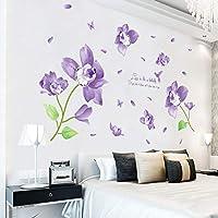 Murales Per Interni Casa.Amazon It Stickers Murali Orchidea Decorazioni Per Interni Casa E
