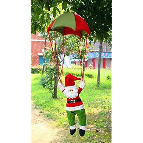 XJoel Natale ornamenti bambola appesa pupazzo di appendere le decorazioni di appendere le decorazioni di Natale 2 verde PC