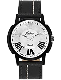 Jainx Silver Dial Analog Watch For Men & Boys - JM261