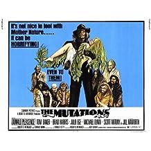 Las mutaciones Póster de película media hoja 22x 28en–56cm x 72cm Donald Pleasence Tom Baker Brad Harris Julie Ege Michael Dunn