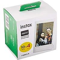 Instax 70100146437 Mini Film Pack de 4 x 10 Fotos (40 Fotos)