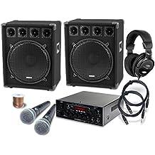 McGrey DJ Karaoke set completo Party-2500 1600W
