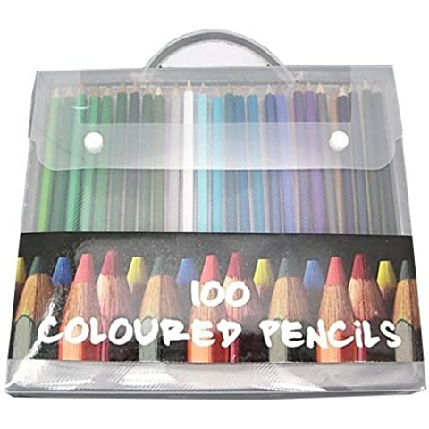 To and sketches Coloring [rich color] now in fashion 100 this colorful color pencils (Mobile Cased) (japan import) by mjfactory