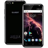 CUBOT Magic 4G Smartphone Débloqué (Android 7.0 - Dual Caméra arrière 13MP+2MP - caméra frontale 5MP - 3 GO RAM + 16GO ROM - 5 pouces bodycurve IPS Écran - Quad Core - Double SIM - GPS/WIFI) - Gris