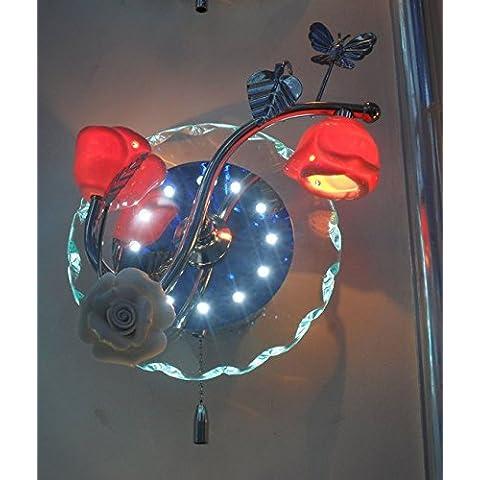 DZXYA Moderno ed alto-lampada da parete LED lampada sul comodino e