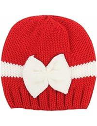 feiXIANG Cappello del bambino Bambino neonato ragazzo neonato maglieria  lana cappello cappello morbido berretto Crochet 68b92ab9b826