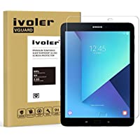 Protector de Pantalla Samsung Galaxy Tab S3 9.7 pulgadas / S2 9.7 pulgadas, iVoler Cristal Vidrio Templado Premium Para Samsung Galaxy Tab S3 9.7'' (T820/T825) / S2 9.7'' (T810/T815) [9H Dureza] [Alta Definicion 0.3mm] [2.5D Round Edge]