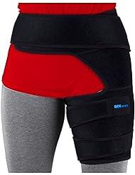 DenSports Oberschenkelbandage aus Neopren für Wunden und Sportunfälle an Oberschenkel und Leisten.